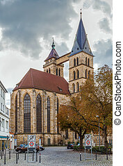 Church of St. Dionysius, Esslingen am Neckar, Germany -...
