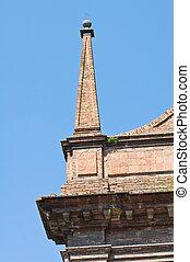 Church of St. Domenico. Ferrara. Emilia-Romagna. Italy.