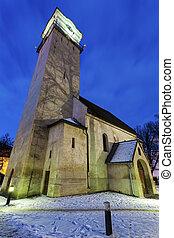 Church of St. Egidius in Poprad