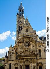 Church of St-Etienne-du-Mont in Paris, France