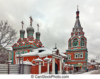 Church of St. Grigory Neokesariisky, Moscow, Russia