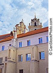 Church of St John at courtyard of Vilnius University