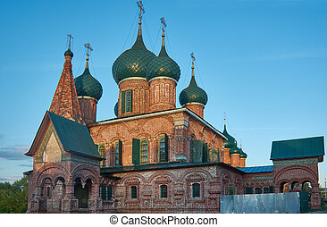 Church of St. John Chrysostom in Yaroslavl.