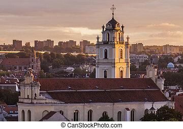 Church of St. John in Vilnius
