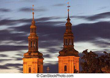 Church of St. John the Baptist in Legnica