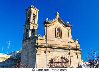 Church of St. Luigi. Bitritto. Puglia. Italy.