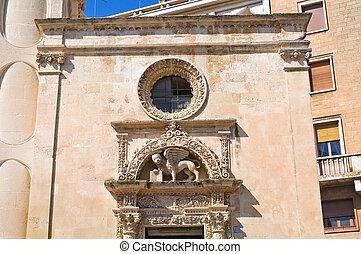Church of St. Marco. Lecce. Puglia. Italy.
