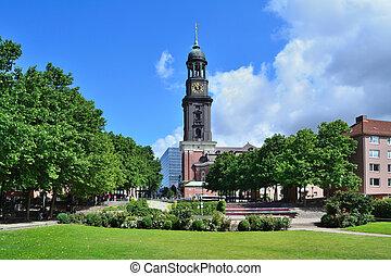 Church of St. Michael in Hamburg