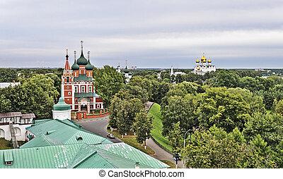 Church of St. Michael the Archangel in Yaroslavl