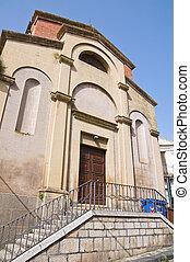 Church of St. Nicola. Melfi. Basilicata. Italy.