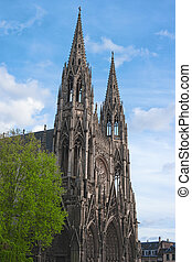Church of St Ouen, Rouen, Normandy, France, Europe