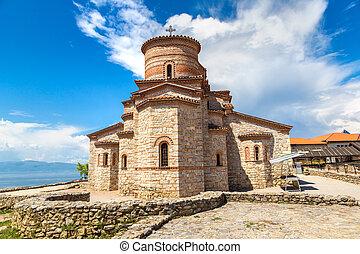 Church of St. Panteleimon in Ohrid