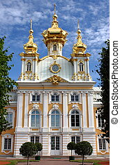 Church of St. Peter and Paul at Peterhof Palace