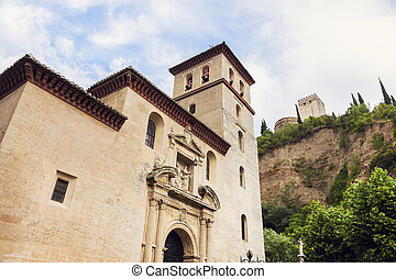 Church of St Peter and St Paul in Granada