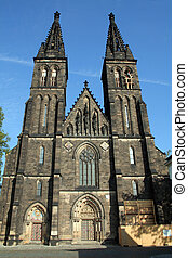 Church of St Peter and St Paul in Vysehrad