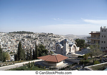 Church of St. Peter in Gallicantu in Israel travel attraction