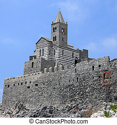 Church of St. Peter, Porto Venere, Liguria, Italy