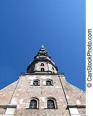 Church of St. Peter. Riga, Latvia