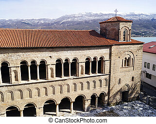 Church of St. Sophia in Ohrid - Church of St. Sophia is one...