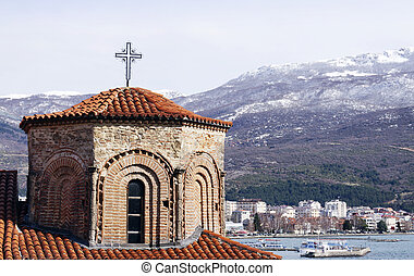 Church of St. Sophia in Ohrid is one of the main landmarks...