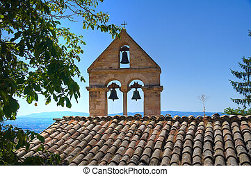 Church of St. Stefano. Assisi. umbria. Italy.