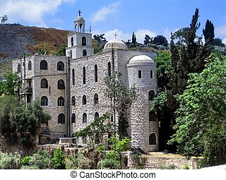 Church of St. Stephen in the Kidron Valley