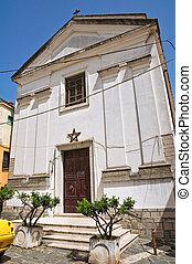 Church of St. Teodoro. Melfi. Basilicata. Italy.