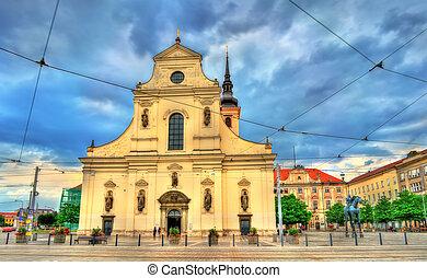 Church of St. Thomas in Brno, Czech Republic