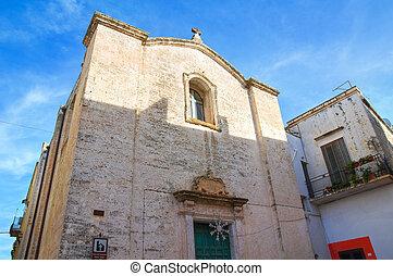 Church of the Annunciation. Galatone. Puglia. Italy.