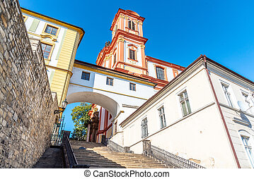 Church of the Annunciation of the Virgin Mary in Litomerice, Czech Republic