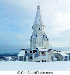 Church of the Ascension (1528) in Kolomenskoye, Moscow