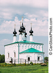 Church of the Entry into Jerusalem in Suzdal, Russia
