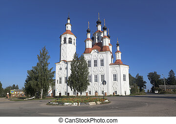 Church of the Entry of the Lord into Jerusalem in Totma, Vologda Region