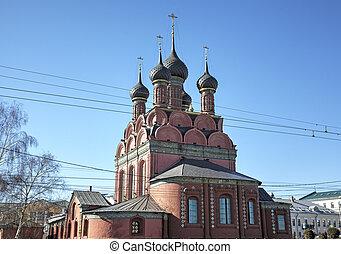 Church of the Epiphany. Yaroslavl,