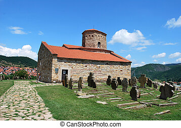 Church of the Holy Apostles Peter and Paul in Ras, Serbia