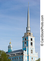 Church of the Holy apostles Peter and Paul in Yaroslavl, Russia.