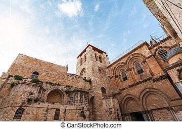 Church of the Holy Sepulcher, Jerusalem, Israel.