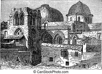 Church of the Holy Sepulchre or Church of the Resurrection...
