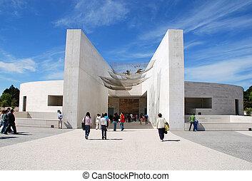 Church of the Holy Trinity, at Fatima, Portugal - FATIMA,...