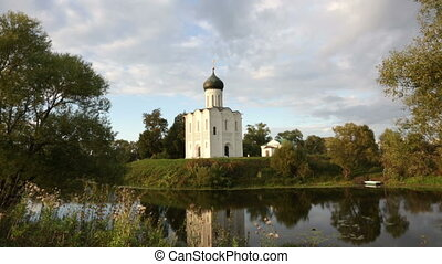 Church of the Intercession of the Holy Virgin on the Nerl...
