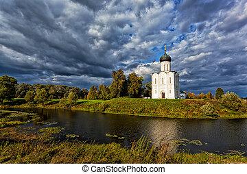 Church of the Intercession on the Nerl. Bogolyubovo, Vladimir region, Golden Ring of Russia