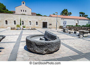 Church of the Multiplication in Tabgha, Israel - The Church...