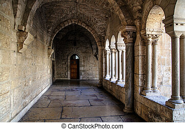 Church of the Nativity, Bethlehem - The passage of the...
