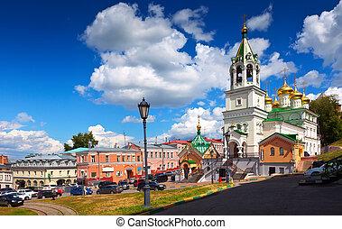 history district of Nizhny Novgorod. Russia