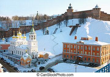 Church of the Nativity of St. John the Baptist at Kremlin Nizhny Novgorod