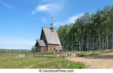 Church of the Resurrection in Ples, Russia