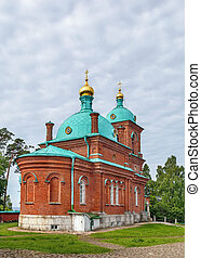 Church of the Resurrection of Christ, Valaam, Russia -...