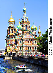 Church of the Savior on Blood. St. Petersburg, Russia