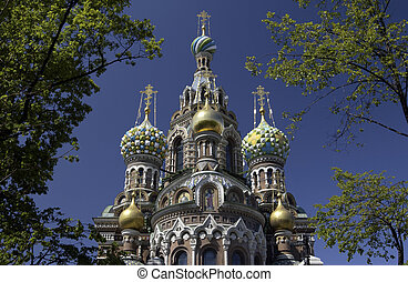 Church of the Savior on Spilled Blood - St. Petersburg -...