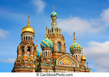 Church of the Savior on Spilled Blood, St. Petersburg, ...